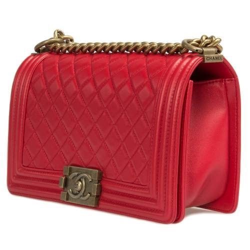 Chanel Boy Quilted Flap Bag