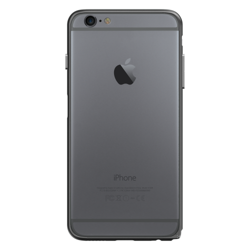 Slim Aerospace Aluminum Bumper for iPhone 6s, Black