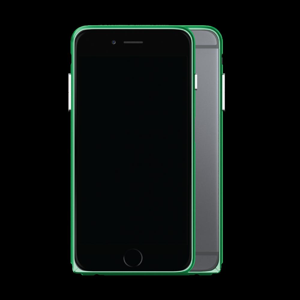 Slim Aerospace Aluminum Bumper for iPhone 6s, Believer Green