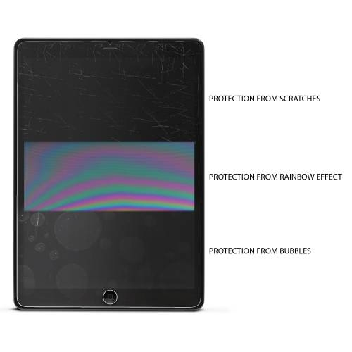 Tempered Glass Screen Protector for iPad