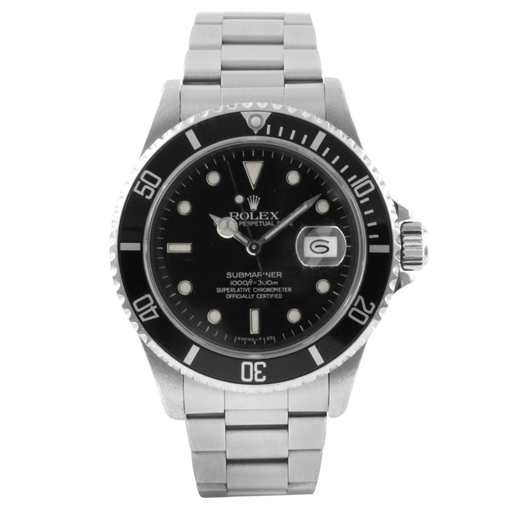 Rolex Men's Stainless Steel Submariner Watch
