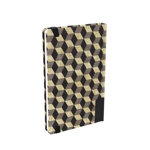 Pattern Notes, Cubes Black (1 Pc.)