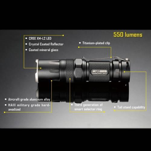 NiteCore SRT3 LED Flashlight