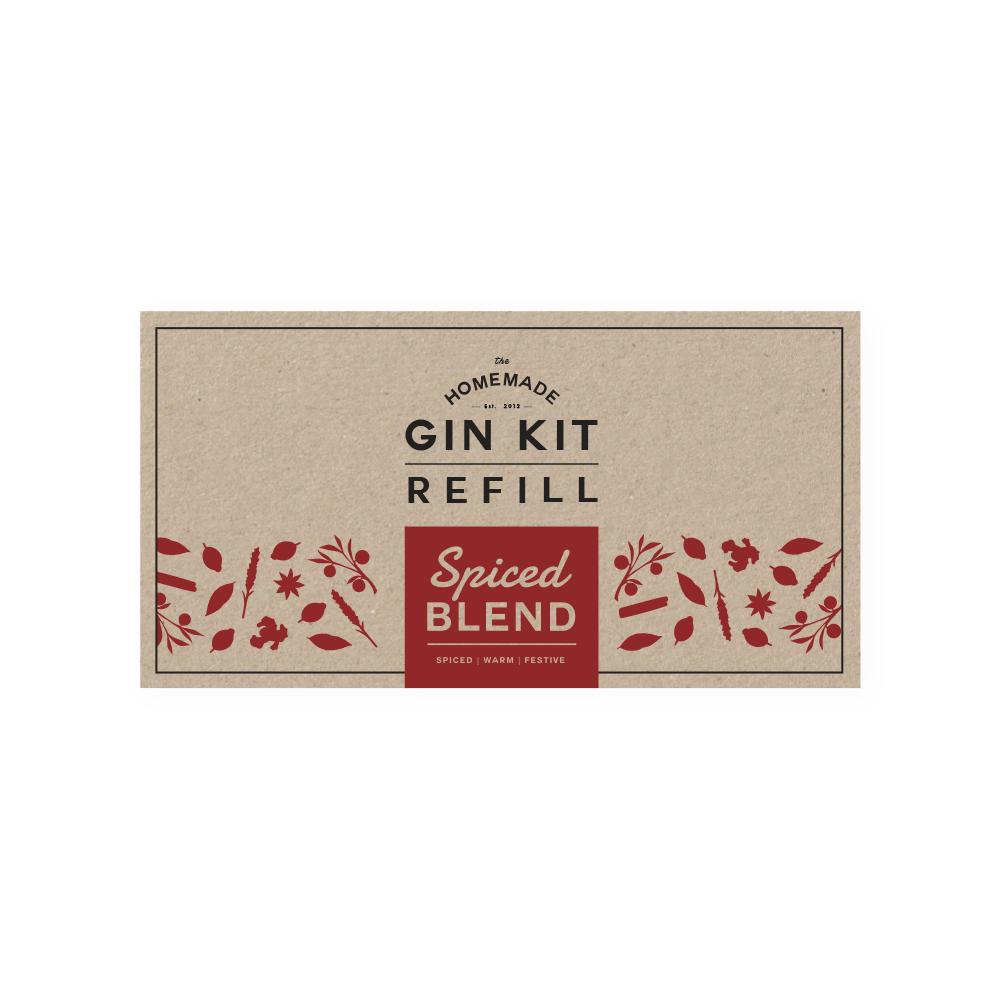 Spiced Blend Refill Tins | The Homemade Gin Kit