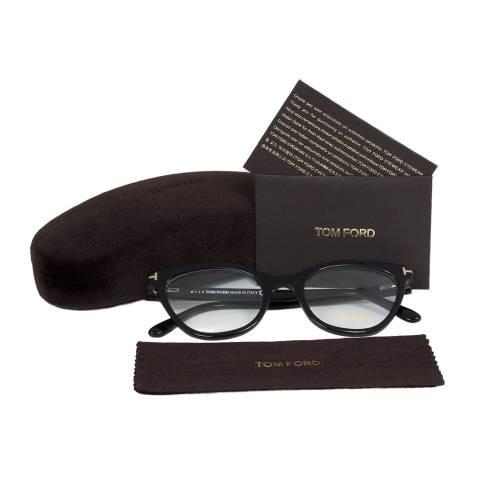 Black Eyeglasses Frame | Size 49