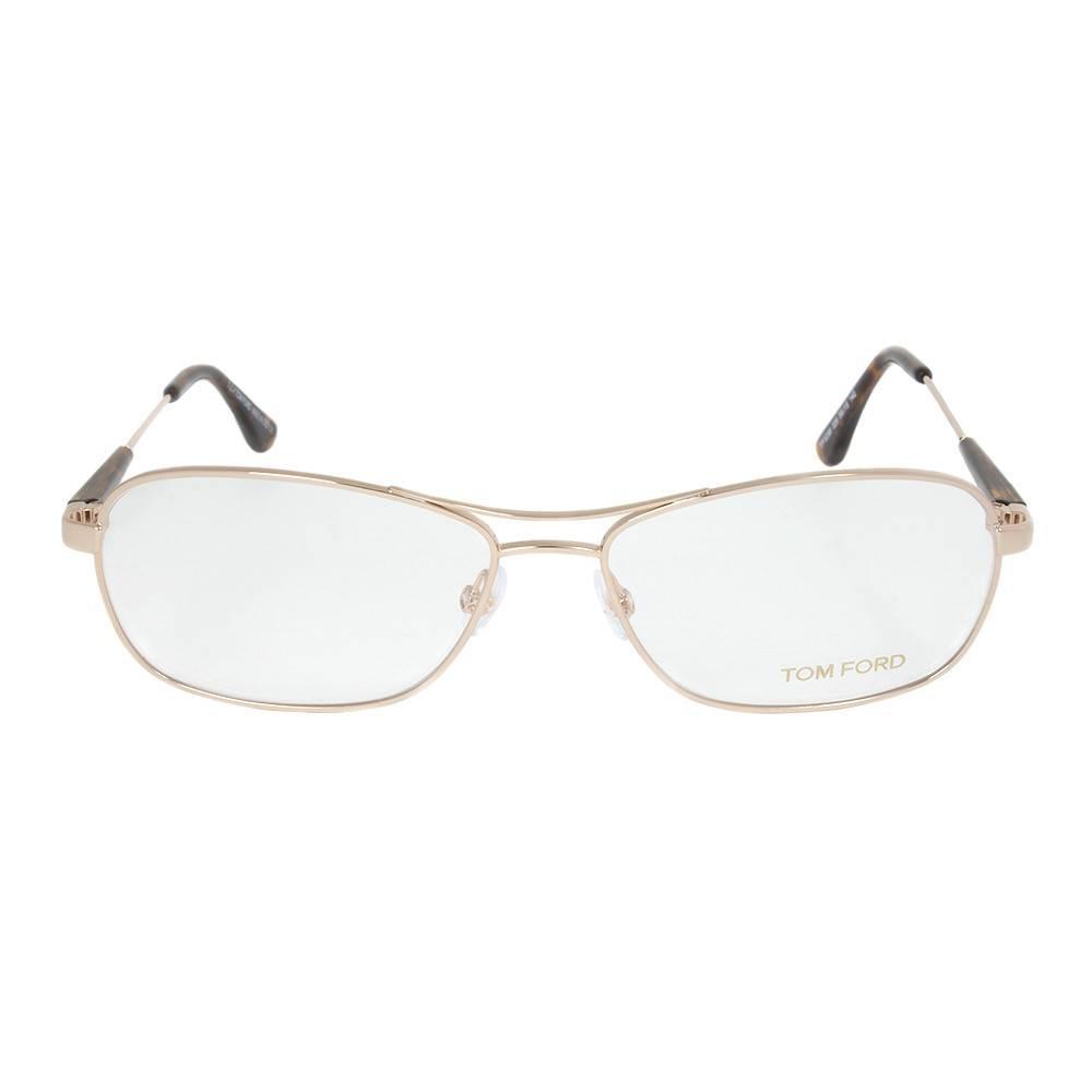 Rose Gold Eyeglasses Frame | Size 56