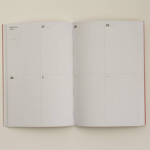 Small Weekly Planner | Octagon Design