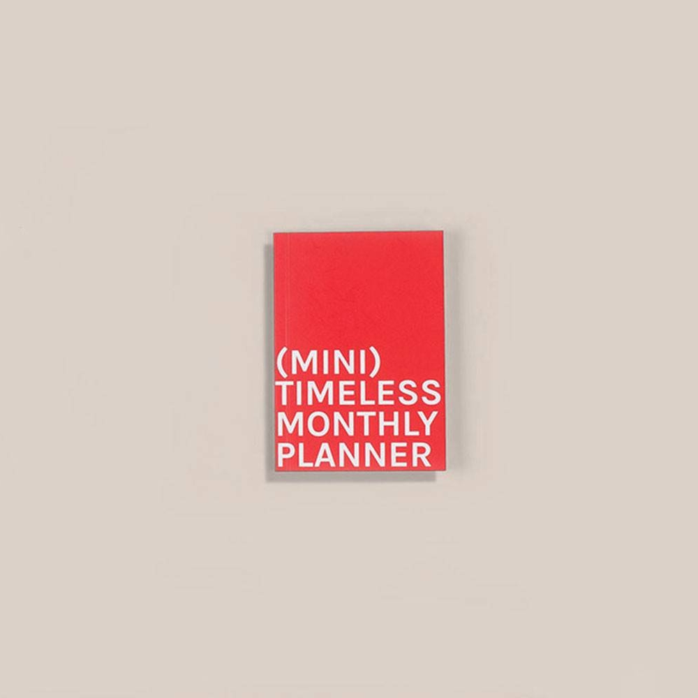 Mini Timeless Monthly Planner   Octagon Design
