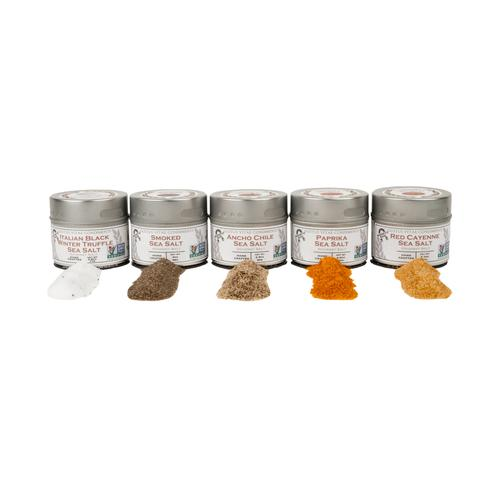 The Complete Gourmet Salts Gift Set | Set of 5