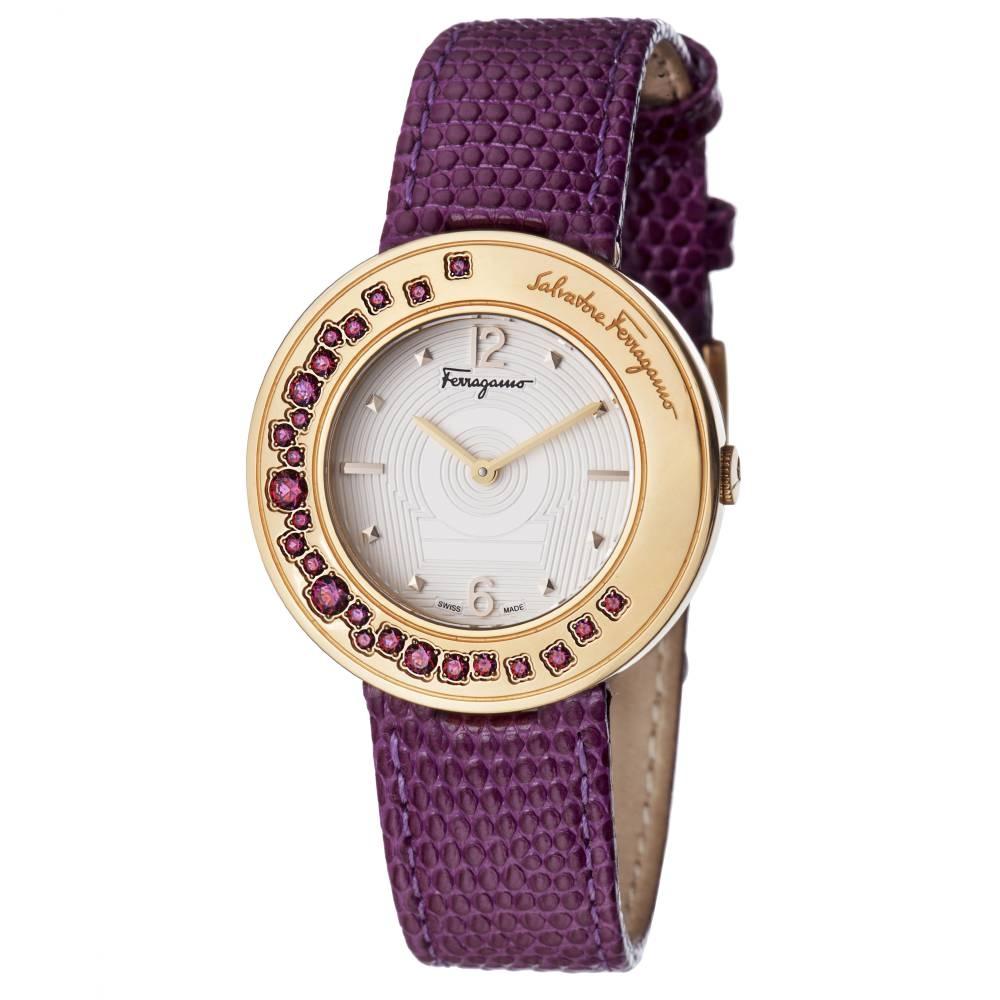 Ferragamo   Gancino Sparkling Women's Watch