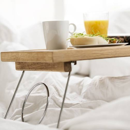 Bed Tray | Foldable Legs | Oak
