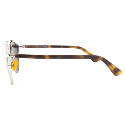 Dior AOOMD Sunglasses | Havana/Silver Gunmetal Frame