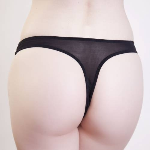 Playful Promises | Penelope Gold Eyelash Thong