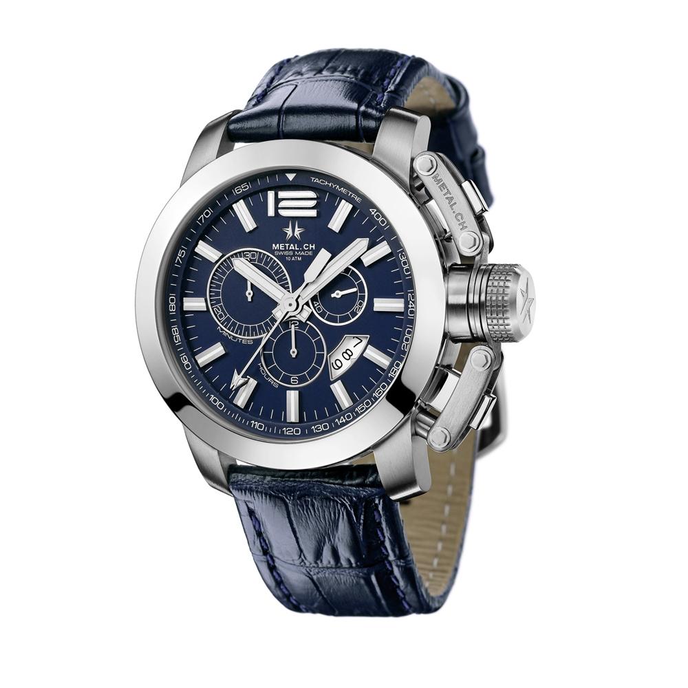 Metal CH Watch | Chrono 2153