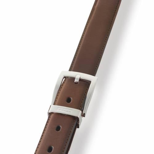 Brown Classic Leather Belt | Dalvey