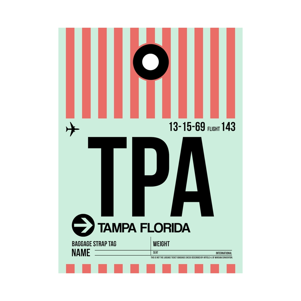 NaxArt | TPA Tampa Poster