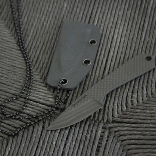Carbon fiber KNIFE   STRAIGHT HANDLE