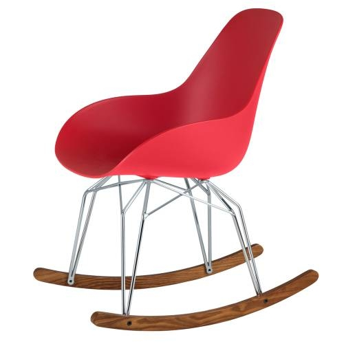 Diamond Dimple Closed Rocking Chair