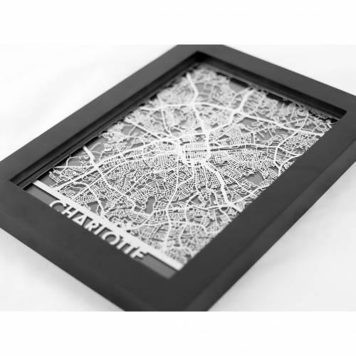 Charlotte | Cut Maps