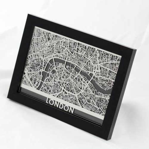 London | Cut Maps