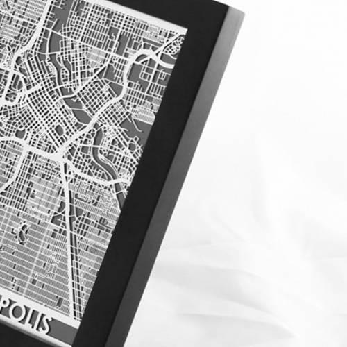 Minneapolis | Cut Maps