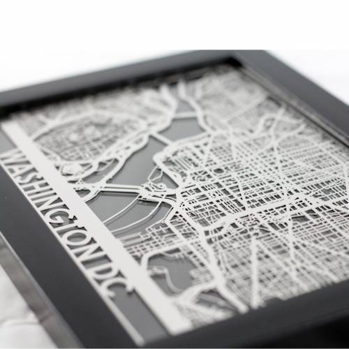Washington DC | Cut Maps