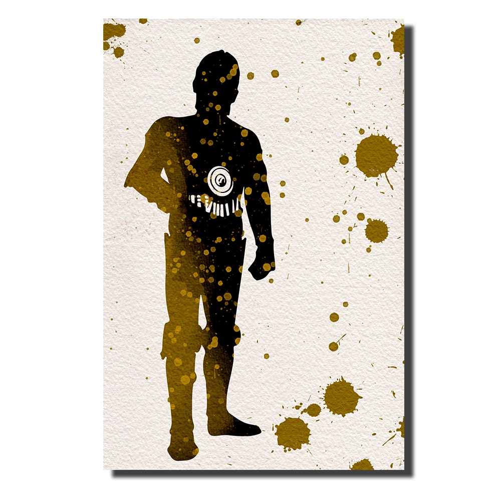 C3PO Watercolor | Power Cosmic