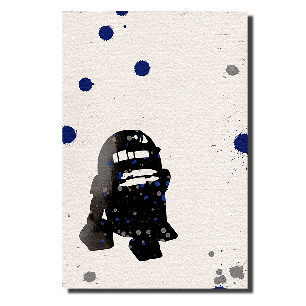 R2D2 Watercolor | Power Cosmic