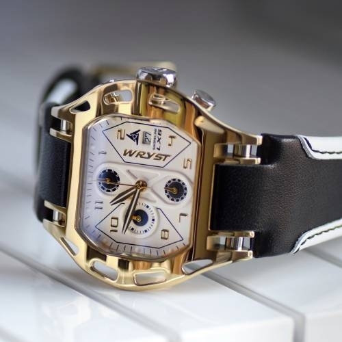 Shoreline LX6 Gold Sport   Wryst Watches