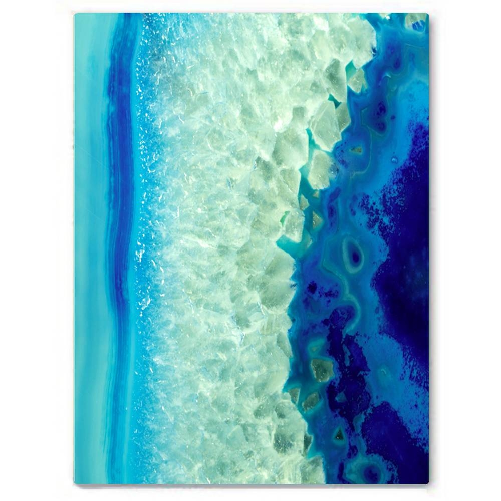 Blue Monday Canvas Print | Vivienne East
