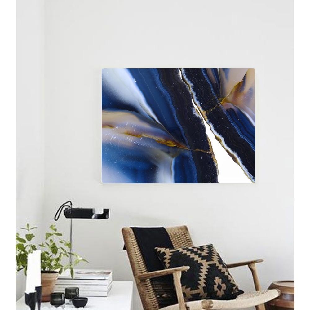 Into The Blue Canvas Print | Vivienne East