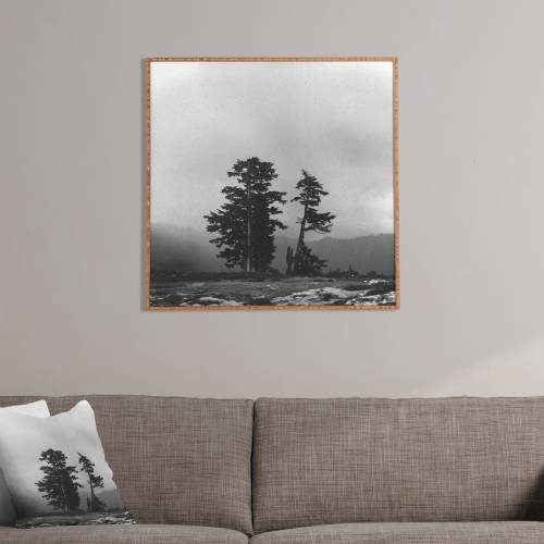Leah Flores Pacific Northwest Framed Wall Art | Deny Designs