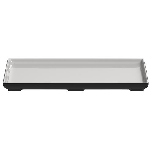 Rectangular Serving Plate - Black and White