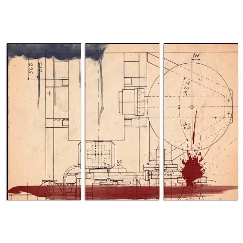 Hatcher Triptych | Canvas Art