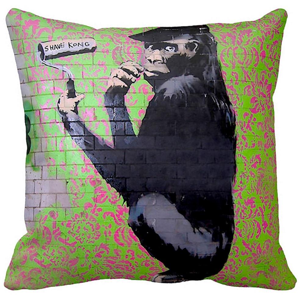 Gorilla Artist / Shave Kong | Banksy Artwork | iLeesh