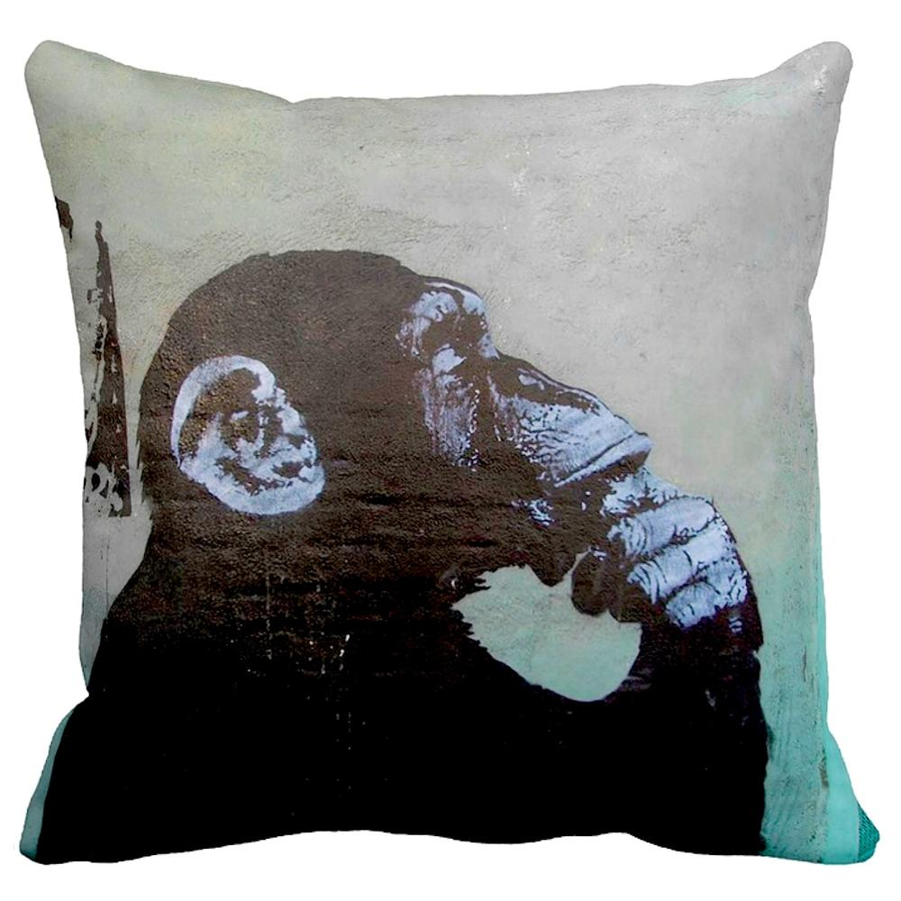 Thinker Monkey   Banksy Art   iLeesh