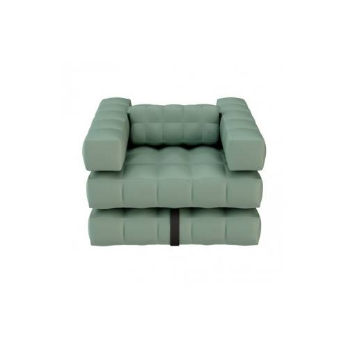 Armchair / Single Lounger Set | Olive Green | Pigro Felice