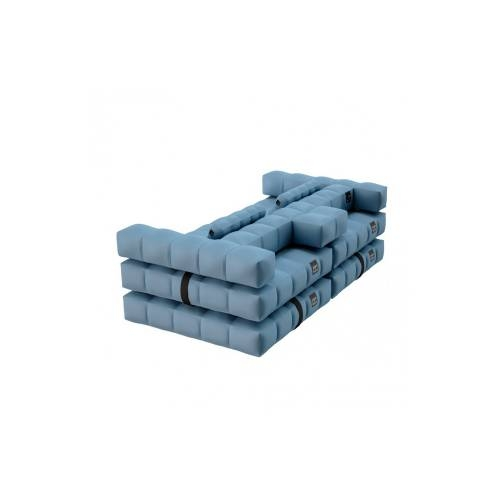 Sofa / Double Lounger Set | Azur Blue | Pigro Felice