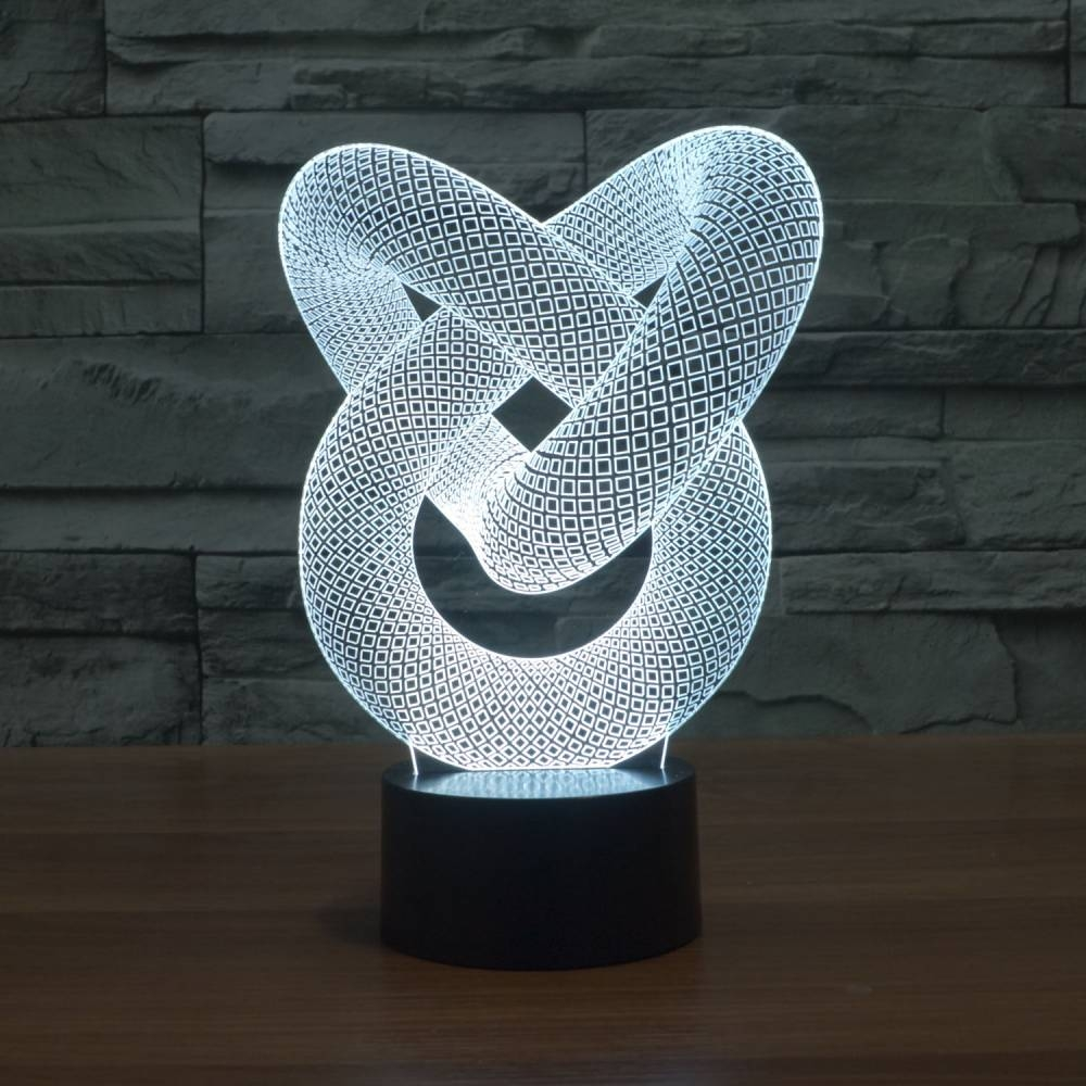 - 3D Illusion Table Lamp Rabbit Coocepts Lighting