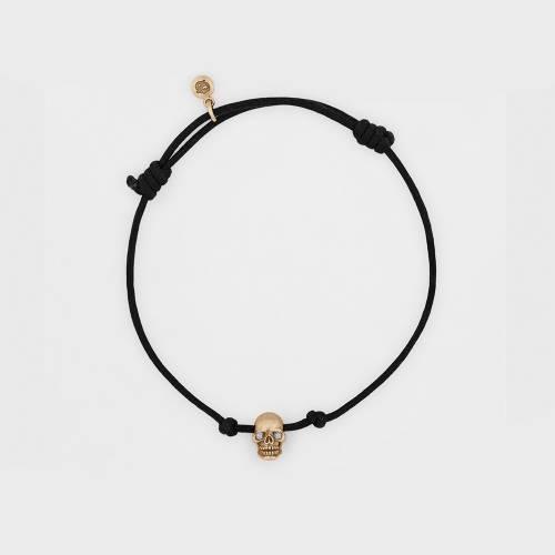 Skull Bracelet | Rose Gold | Diamond Eyes