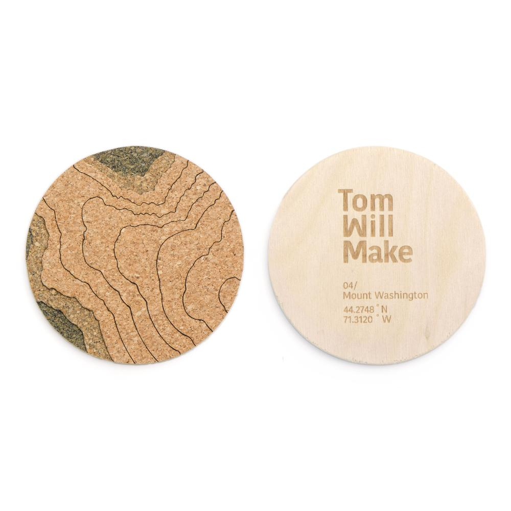 Topo Coasters   Pack of 4   Tom Will Make