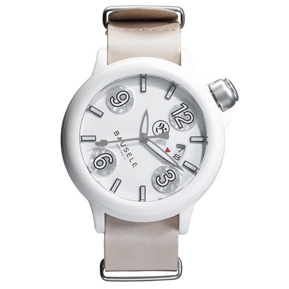 Pilot Automatic | All White | Bausele