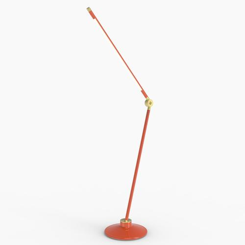 Thin S Desk Lamp | Orange