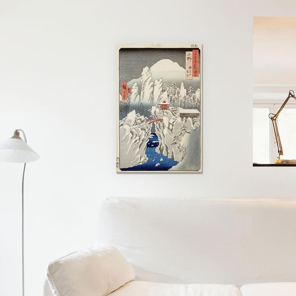 Kozuke, Harunasan setchu | Canvas Print