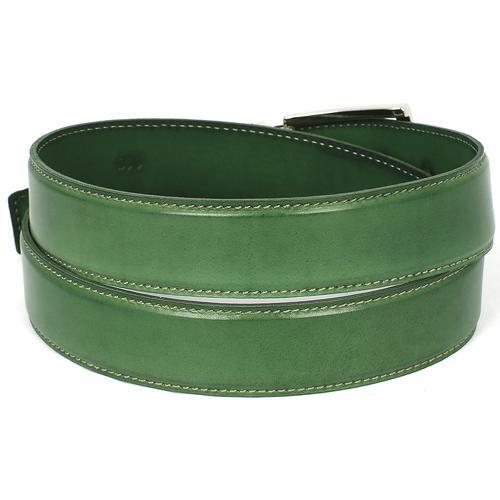 Men's Leather Belt | Green