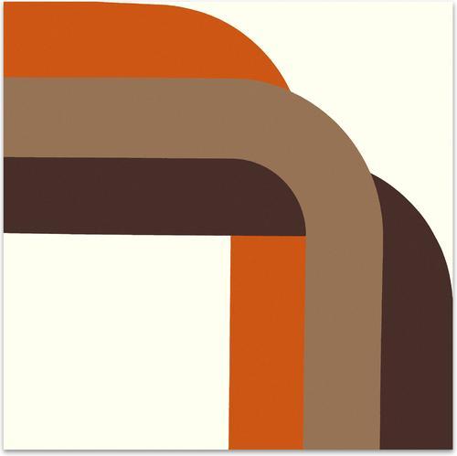 Right Angle // Browns | MidcenturyArt
