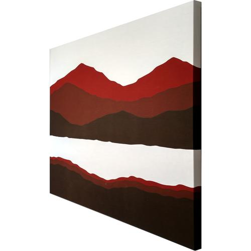 Mountain & Lake |MidcenturyArt