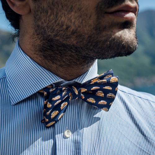 The Vintage Race | Handmade Silk Bow Tie | The OutlierMan