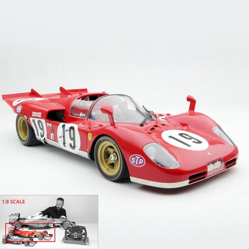 Ferrari | 512S 1970 Sebring | Amalgam | 1:8 Scale Model Car