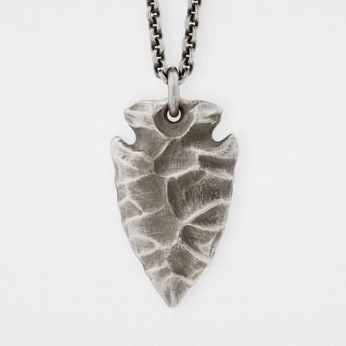Arrowhead Pendant   Sterling Silver
